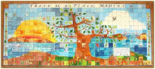 Madera mosaic
