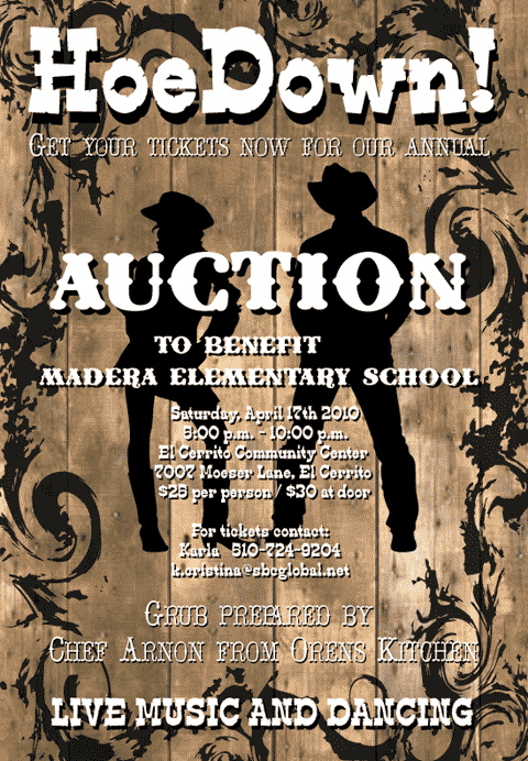 Madera Auction 2010: HoeDown!