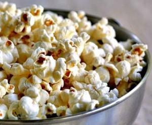 Popcorn.  Woo hoo!