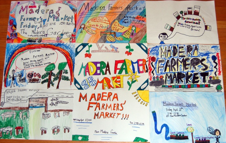 Madera Farmer's Market posters