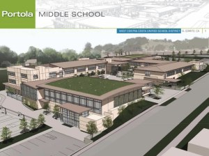 The New Portola Middle School
