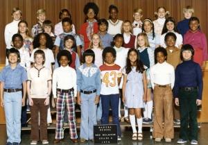 Madera Class Photo, 1976