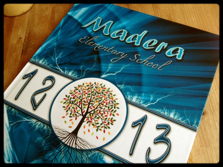Madera yearbook 2012-13